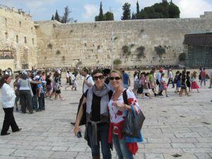 Io e la mia titolare a Gerusalemme