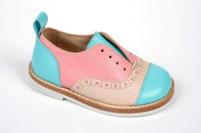PEPE CHILDRENSHOES1214EL HERITAGE BUBBLE PINK-MINT DA 157€