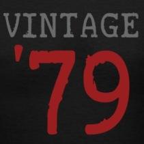 black-vintage-1979-women-s-t-shirts-women-s-v-neck-t-shirt