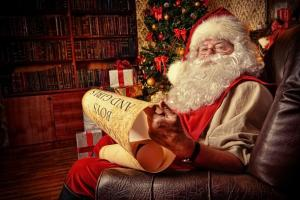 bigstock-Santa-Claus-dressed-in-his-hom-77403947