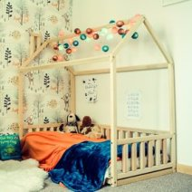Toddler House Bed Frame